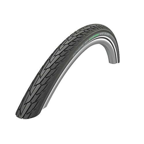 Schwalbe Unisex's Road Cruiser Cycle Tyre, Black/White, 26 x 1.75 from Schwalbe