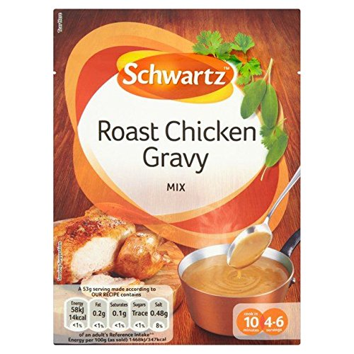 Schwartz Classic Roast Chicken Gravy 26g - Pack of 2 from Schwartz