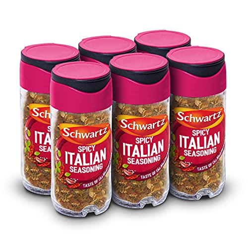Schwartz Spicy Italian Seasoning 42 g (Pack of 6) from Schwartz