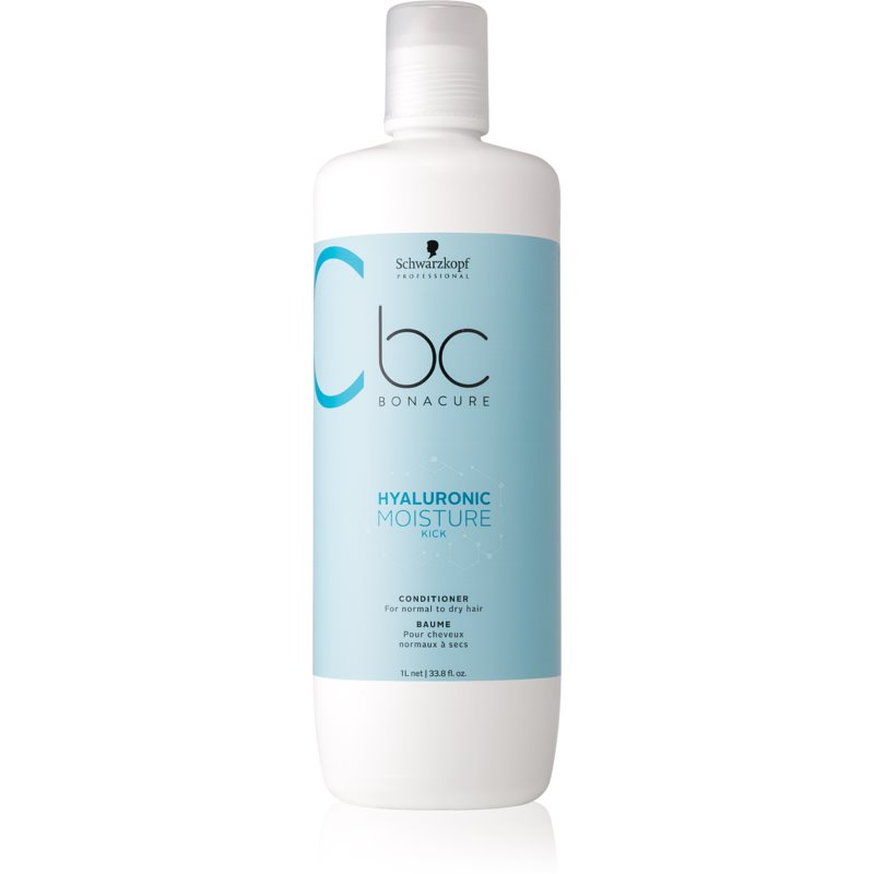 Schwarzkopf Professional BC Bonacure Hyaluronic Moisture Kick Conditioner For Normal To Dry Hair 1000 ml from Schwarzkopf Professional