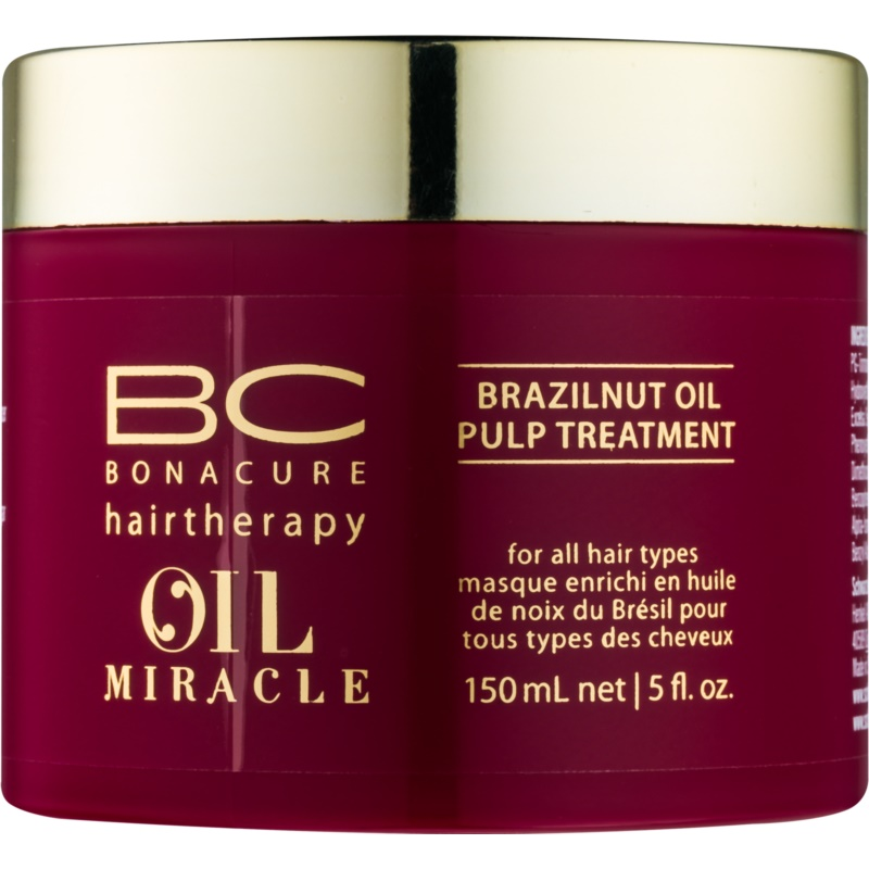 Schwarzkopf Professional BC Bonacure Oil Miracle Brazilnut Oil Hair Mask for All Hair Types 150 ml from Schwarzkopf Professional