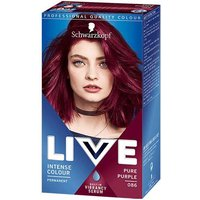 Schwarzkopf Live Color Intense Colour Permanent Coloration 86 Pure Purple from Schwarzkopf