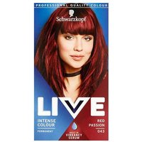 Schwarzkopf Live Color XXL HD Intense Colour Permanent Coloration 43 Red Passion from Schwarzkopf