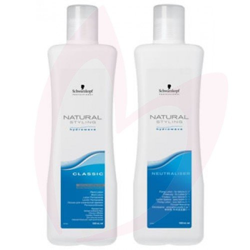 Schwarzkopf Natural Styling Hydrowave Classic Perm Lotion&Netraliser-2 Coloured Twinpack from Schwarzkopf