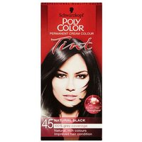 Schwarzkopf Poly Color Permanent Cream Colour  Tint  Natural Black 45 (1) from Schwarzkopf