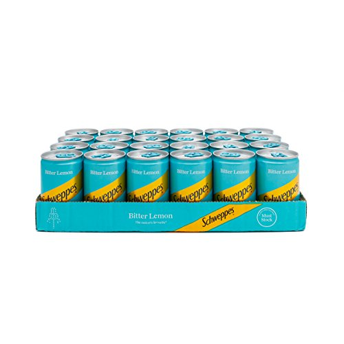 Schweppes Bitter Lemon 150ml Mini Can - 24 Pack from Schweppes