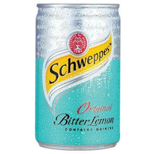 Schweppes Bitter Lemon Cans 12x150ml from Schweppes