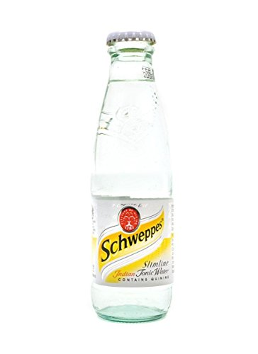 Schweppes Slimline Indian Tonic Water 24x125ml Glass Bottles from Schweppes