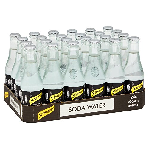 Schweppes Soda Water, 200 ml (Pack of 24) from Schweppes