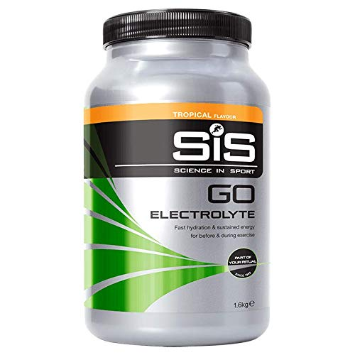 Science in Sport Go Electrolyte Energy Drink + Electrolytes, 1.6 kg (40 Servings) - Tropical from Science in Sport