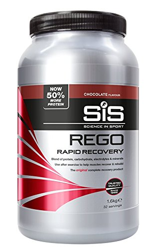 Science in Sport Rego Rapid Recovery Protein Shake, 1.6 kg (32 Servings) - Chocolate from Science in Sport