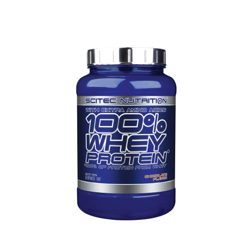 Scitec Nutrition 100% Whey Protein with Extra Amino Acids, 920 g, Chocolate from Scitec Nutrition