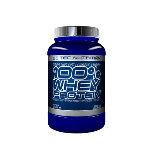 Scitec Nutrition 100% Whey Protein with Extra Amino Acids, 920 g, Vanilla from Scitec Nutrition