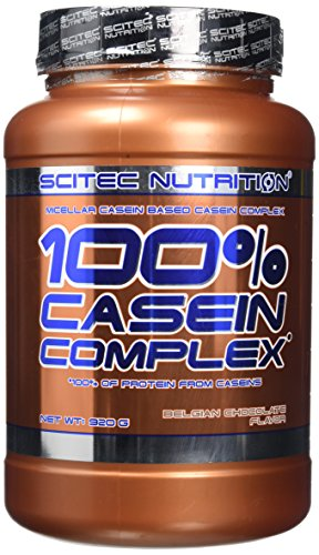Scitec Nutrition 100% Casein Complex Protein Powder - 920 g, Belgian Chocolate from Scitec Nutrition
