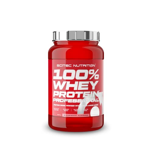 Whey Protein Prof. 920g Strawberry from Scitec Nutrition