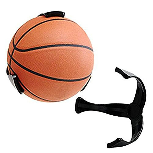 Wall Mount Ball Holder, Scoolr Space Saver Basketball Volleyball Soccer Ball Claw Sports Wall Mount Holder for Ball Basketball Bracket from Scoolr