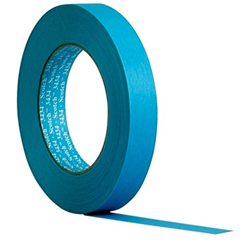 3M Scotch Water Resistant Blue Automotive Masking Tape, 07895 - Roll from Scotch