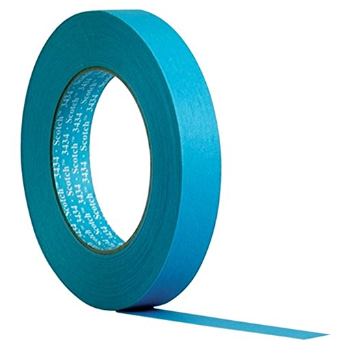 Scotch Water Resistant Blue Automotive Masking Tape - 25 mm x 50 m from Scotch