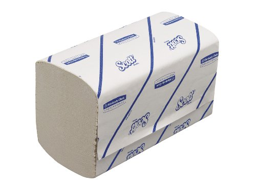 Scott Performance Interfold Paper Hand Towels Medium White 15 Packs of 180 Towels from Scott