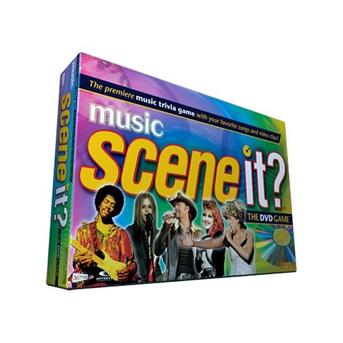 Scene It? Music Edition DVD Game from Mattel