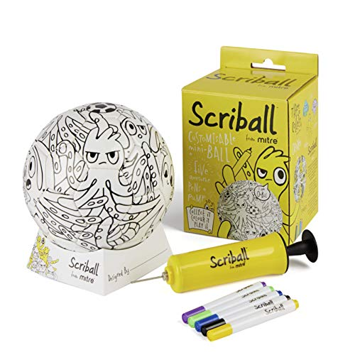Scriball Mitre Personaliseable Mini Football, Oobil from Scriball