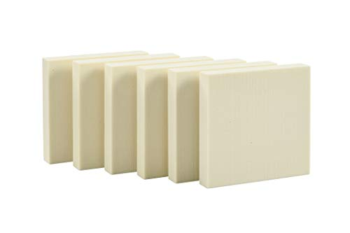 Sculpture Block 15 x 15 x 2.5cm-Pack of 6 from Sculpture Block