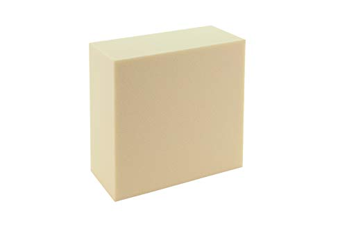 Sculpture Block SB 1515751, Hard Foam, White, 15 x 15 x 7.5 cm from Sculpture Block