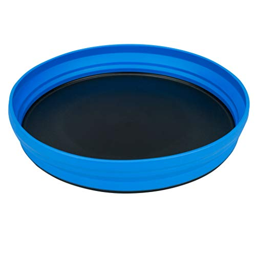 Sea To Summit Unisex's X Collapsible Silicone Plate-Blue, One size from Sea to Summit