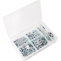 Sealey AB056WC Flat Washer Assortment 495pc M6-M24 Form C Metric B... from Sealey