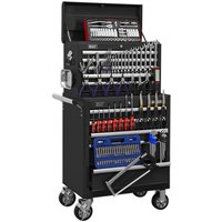 Sealey APCOMBOBBTK56 Topchest & Rollcab 10 Drawer - BB Runners - 1... from Sealey