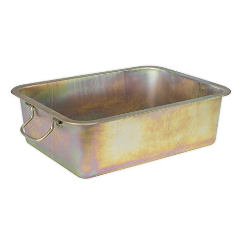 Sealey DRPM4 20ltr Metal Drain Pan from Sealey