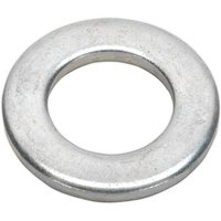 Sealey FWA1630 Flat Washer M16 x 30mm Form A Zinc DIN 125 Pack of 50 from Sealey
