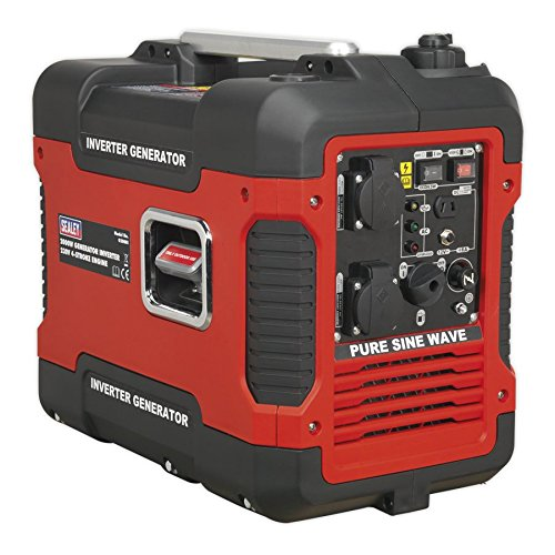 Sealey G2000I Inverter Generator 2000W 230V 4-Stroke Engine from Sealey
