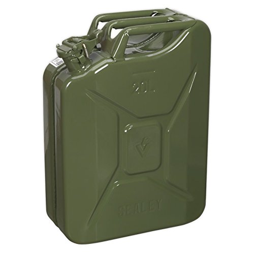 Sealey JC20G 20ltr Jerry Can - Green from Sealey