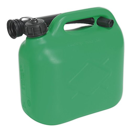 Sealey JC5G 5ltr Fuel Can - Green from Sealey