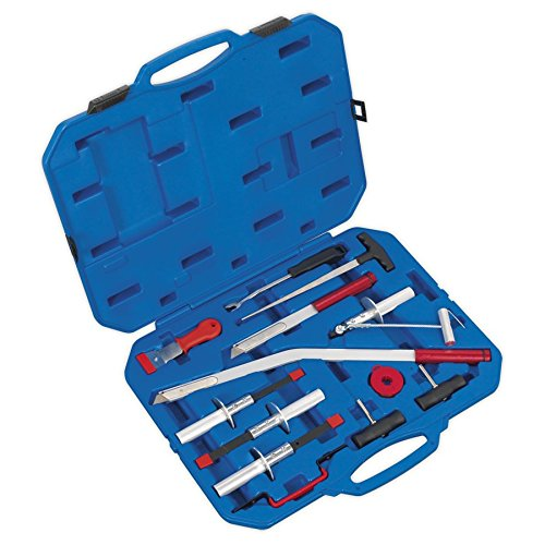 Sealey WK14 Windscreen Removal Tool Kit 14pc from Sealey
