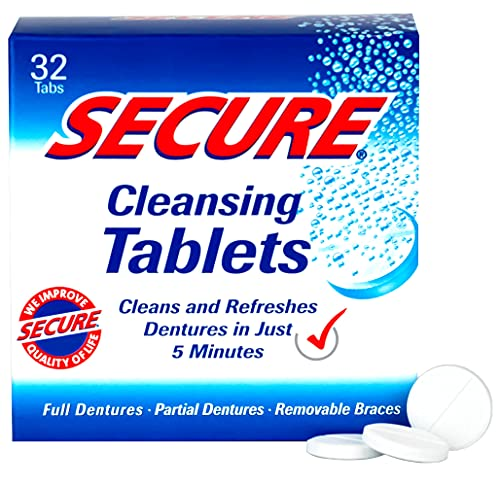 Secure - Secure Denture Cleansing Tablets 32 tabs from Secure