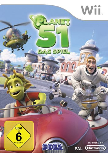 "Wii - Planet 51 from ""Sega of America, Inc."""