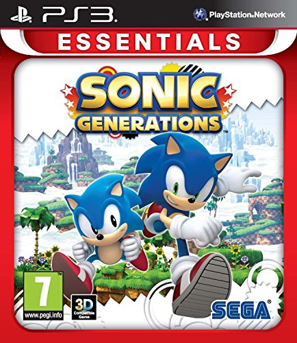 "Sonic Generations Essentials (PS3) from ""Sega of America, Inc."""