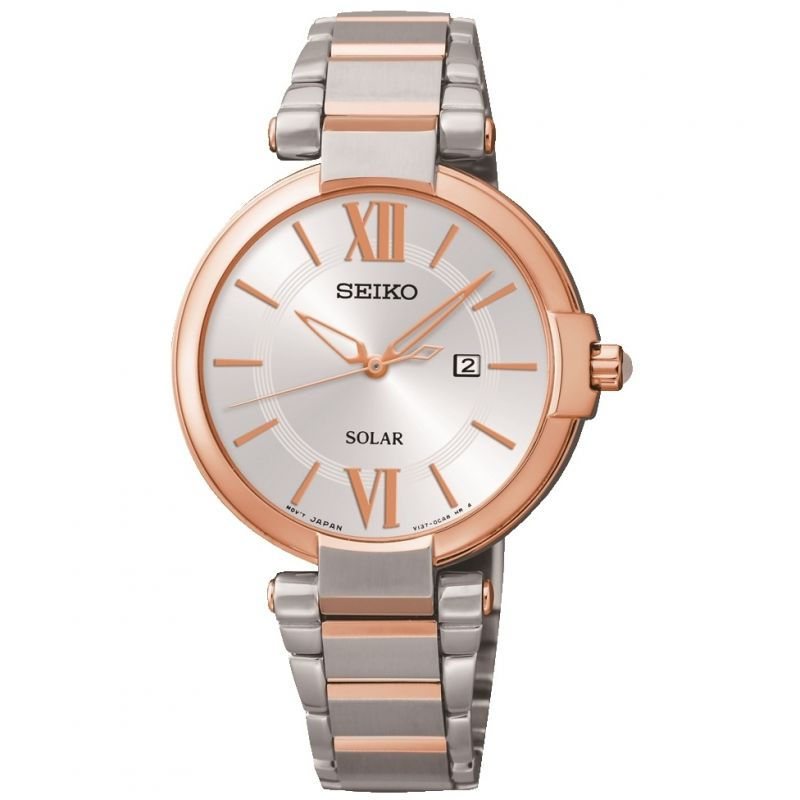 Ladies Seiko Solar Powered Watch from Seiko