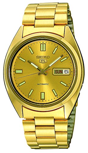 Seiko Mens Automatic Watch, Analogue Classic Display and Stainless Steel Strap SNXS80 from Seiko