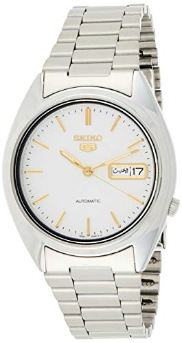 Seiko Men's Analogue Automatic Watch with Stainless Steel Bracelet – SNXG47 from Seiko