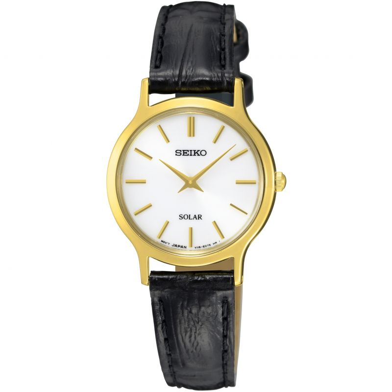 Ladies Seiko Solar Solar Powered Watch SUP300P1 from Seiko