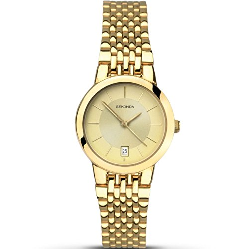 SEKONDA Womens Analogue Classic Quartz Watch with Stainless Steel Strap 2460.27 from Sekonda