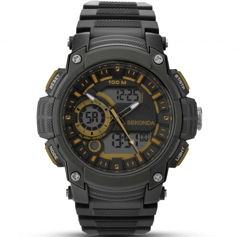 Mens Sekonda Alarm Chronograph Watch from Sekonda