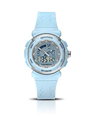 SEKONDA Womens Digital Quartz Watch with Plastic Strap 2421.27 from Sekonda