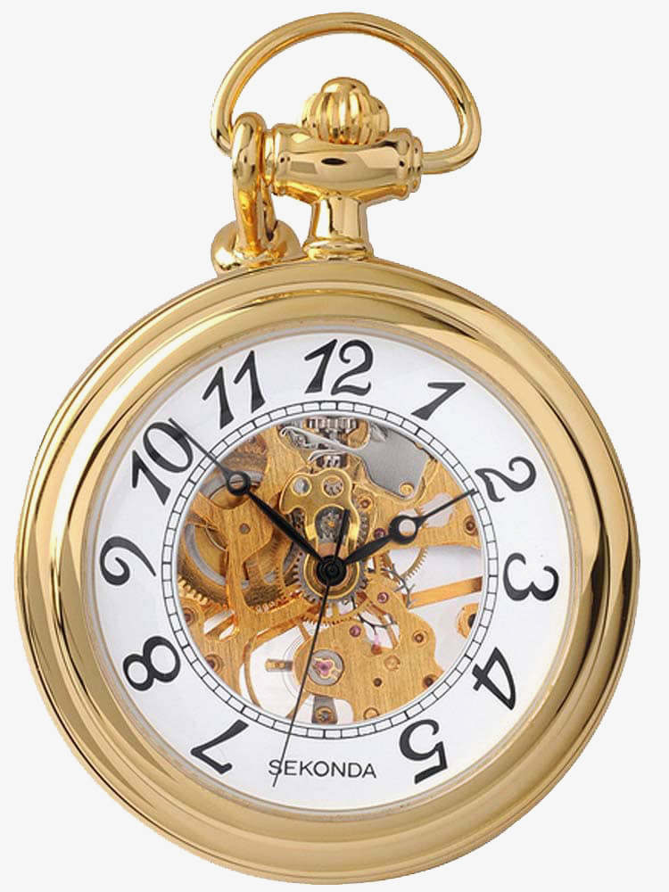 Sekonda Mens Open Case Pocket Watch 1110 from Sekonda