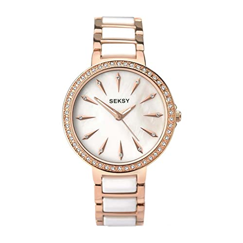 SEKONDA Women's Analogue Quartz Watch with Mixed Strap 2220.37 from Sekonda