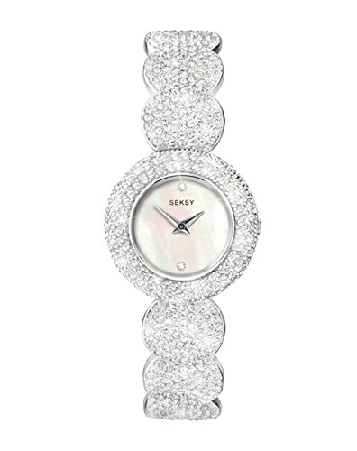 Seksy Women's Analogue Quartz Watch with Alloy Bracelet – 4851.37 from Seksy