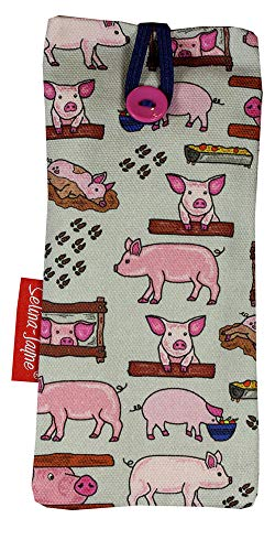 74080114d4d2 Selina-Jayne Pigs Designer Limited Edition Soft Fabric Glass Case from  Selina-Jayne